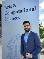 Chemistry and Chemical Biology Ph.D. student Ali Abou Taka