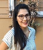 Ph.D. student Anabel Castillo