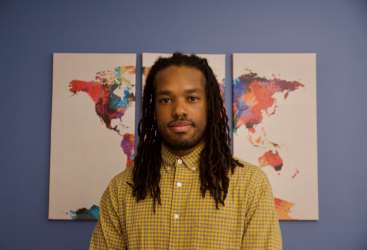 Cognitive and Information Sciences Ph.D. student Tevin Williams