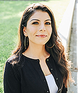 Ph.D. student Veronica Lerma