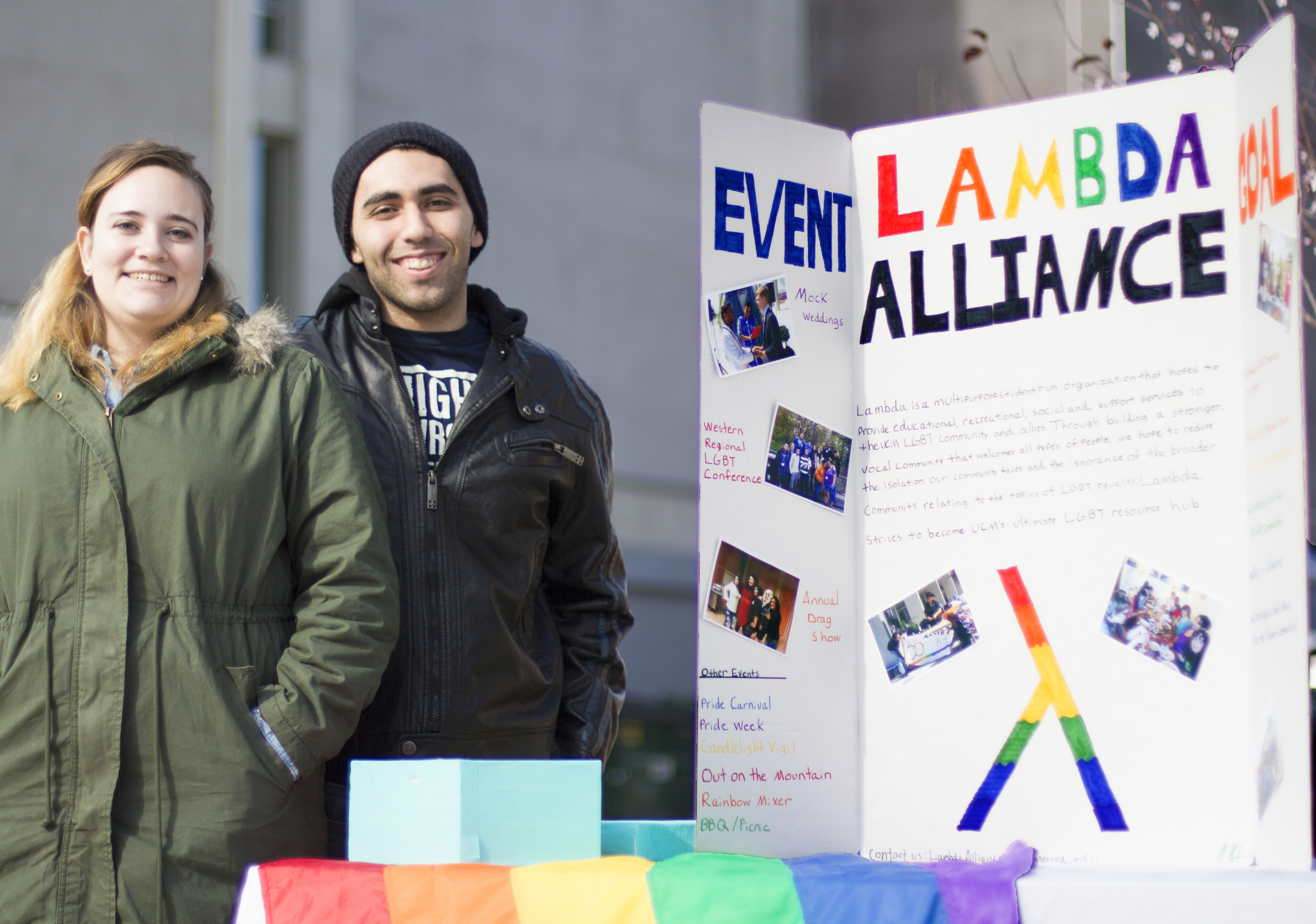 Lambda Alliance focuses on LGBT culture and heritage.