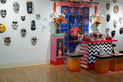 Dia de lost Muertos exhibit