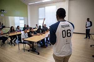 National Society of Black Engineers students highlight engineering careers.