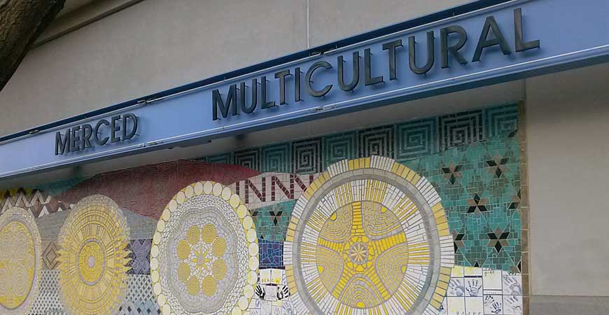 Exterior image of the Merced Multicultural Arts Center