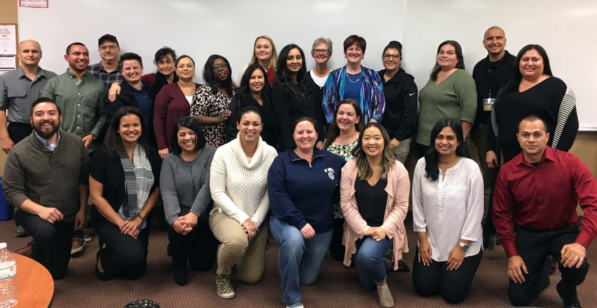 UC Merced Financial Management Certificate Program Participants 2018