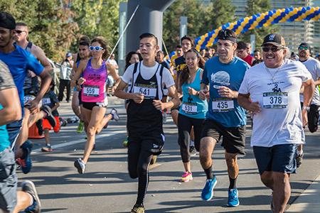 The UC Merced Journey 5K drew 475 participants.