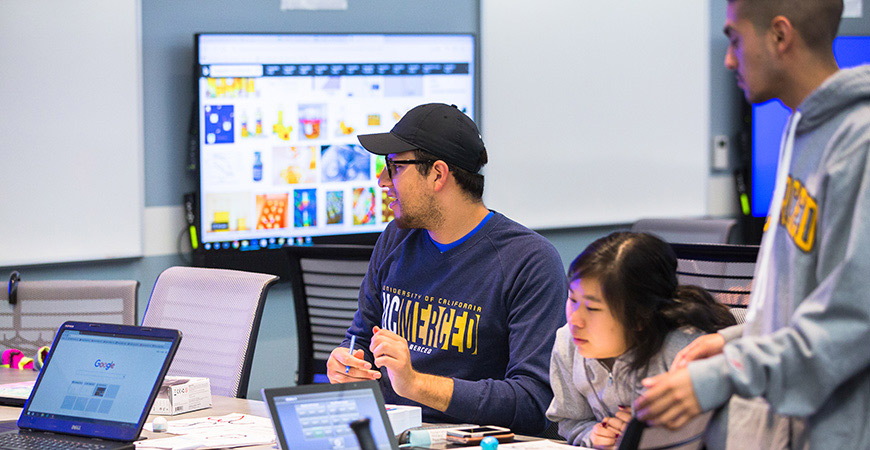 The Technology Enabled Active Learning (TEAL) lab is a high-tech classroom with an unusual layout that's designed to promote active learning.