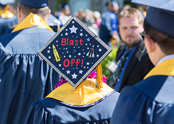 About 300 undergraduate and graduate students are eligible to participate in Fall Commencement.