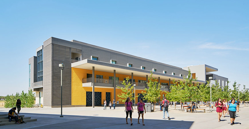 The LEED Platinum-certified Classroom and Office Building 2.
