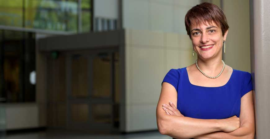 Donna Riley, the Kamyar Haghighi Head of Purdue University's School of Engineering Education