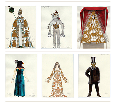 Dunya Ramicova's career in costume design is the subject of a new exhibit and website.