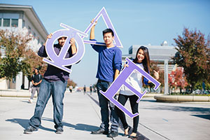 UC Merced is expanding Fraternity and Sorority Life.