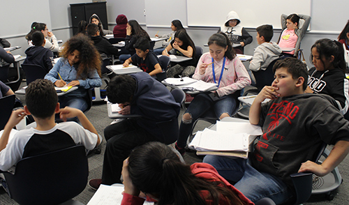 More than 300 students are taking part in a series of Saturday academies designed to help students prepare for mathematics on the upcoming CAASPP.