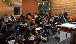 Hundreds of students participated in the second annual HackMerced competition on campus.