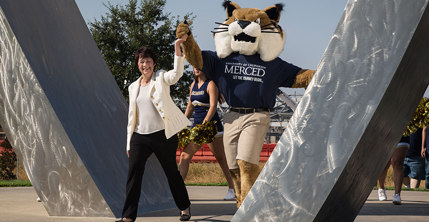 Dorothy Leland will step down as UC Merced chancellor in August after eight years at the university.