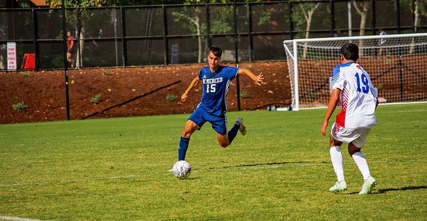 UC Merced's men's soccer team will look to defend its conference regular season championship in 2019.