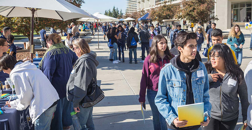 More than 2,000 people were on campus for Homecoming events Oct. 20-22.