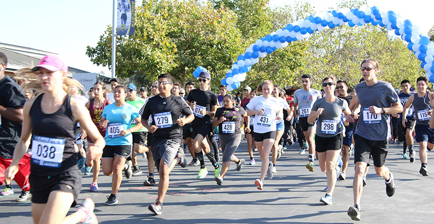 The UC Merced Journey 5K Fund Run is Sept. 9.