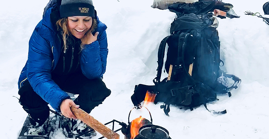 When she's not designing the next engineering solution, alumna Janna Rodriguez enjoys mountain climbing around the world.