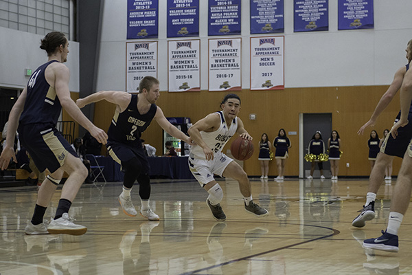 UC Merced men's basketball will host 14 games at Hostetler Court this season.
