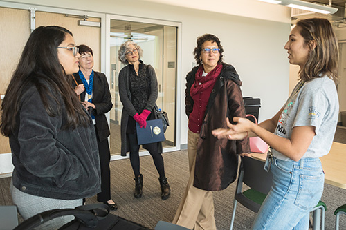 Beyond the M.D. scholars discuss LLCs with Chancellor Leland and UC Regents.