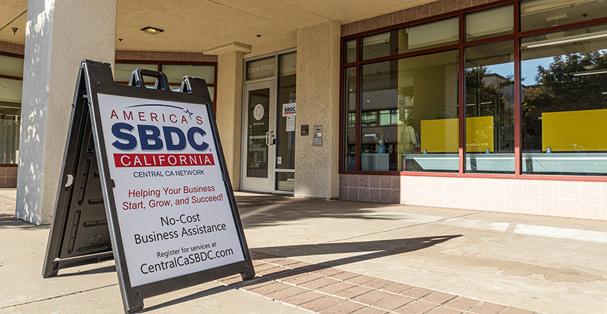 The Central California SBDC, which has been hosted by UC Merced since 2003, has been closed since March 19 and all services are currently being provided remotely.