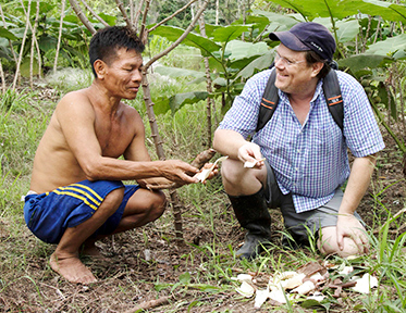 Professor Stephen Wooding researches the genetics of the cassava plant and how locals in Peru have domesticated its toxicity.