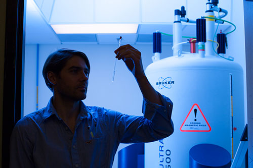 Professor Fabian Filipp researches melanoma, a particularly deadly form of cancer.
