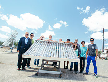 Roland Winston and UC Solar received an MRPI award.