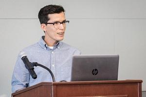 Graduate student Ivan Soto