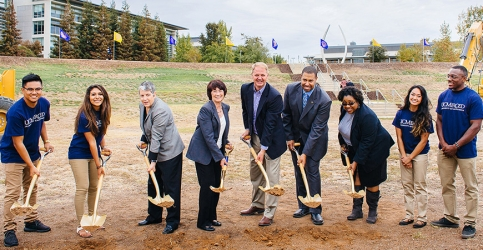 Groundbreaking ceremony for the Merced 2020 Project